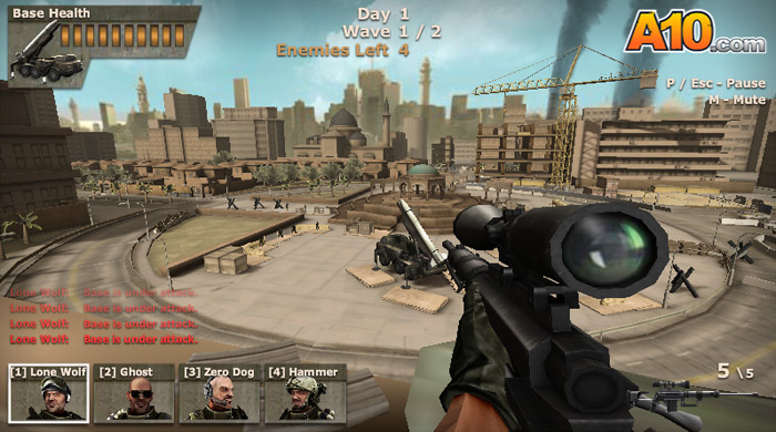 Free Online Games Sniper Team